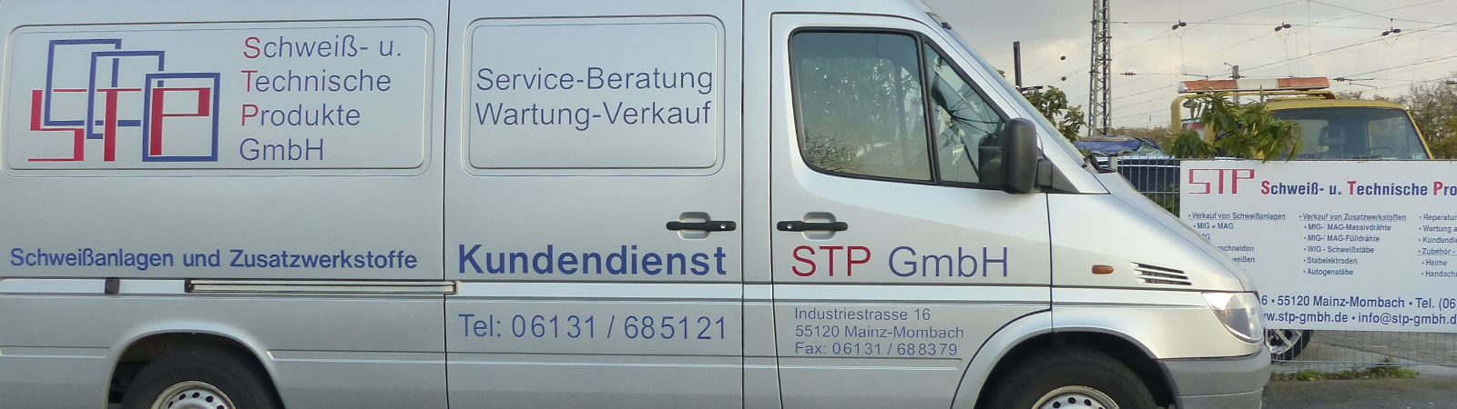 Service Fahrzeug STP Schweißtechnik Mainz
